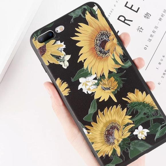 sunflower phone case iphone 8 plus